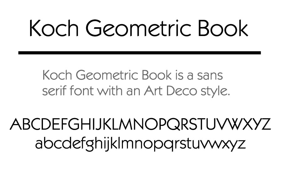Koch Geometric Book